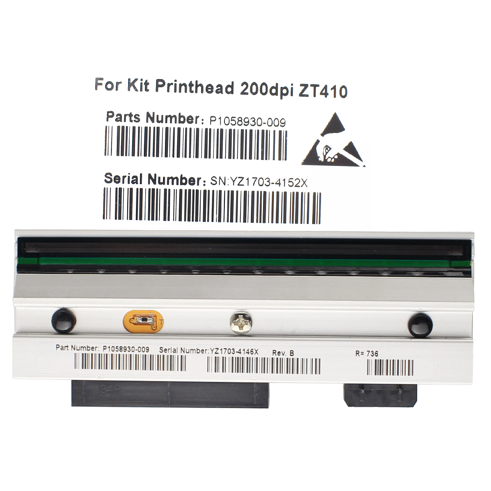 ZT410 Printhead For Zebra ZT410 Thermal Barcode Printer 203dpi P1058930-009 Compatible ZT410 Printhead For Zebra ZT410 Thermal Barcode Printer 203dpi P1058930-009 Compatible