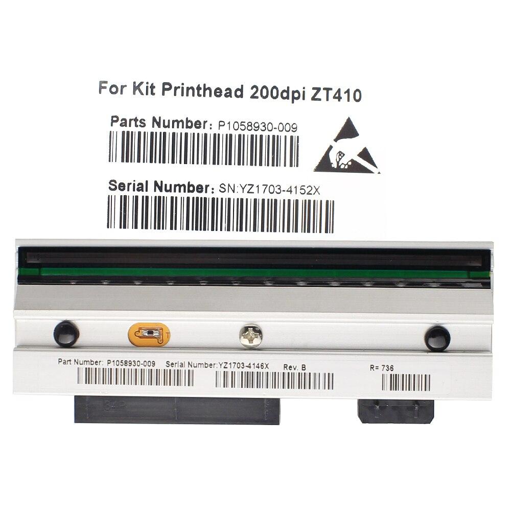 ZT410 ZT410 Impressora Térmica de código de Barras 203 dpi Da Cabeça De Impressão Para Zebra P1058930-009 Compatível