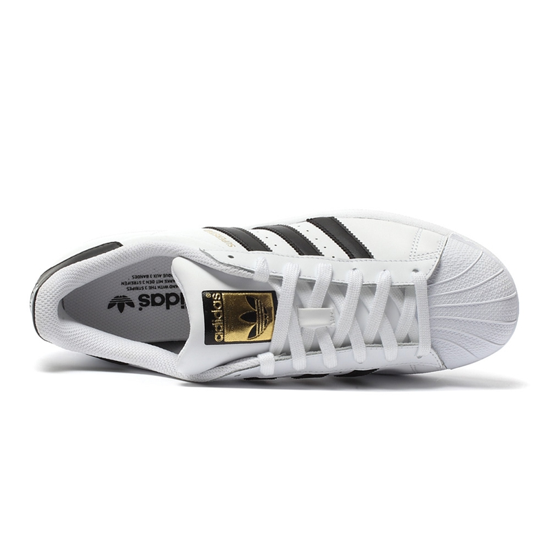 Original New Arrival Authentic Adidas Superstar Classics Unisex Men's and Women's Skateboarding Shoes Anti-Slippery Sneakers 3
