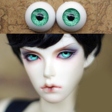 Metal Green  Doll eyes Bjd Eyes for BJD Dolls toys sd eyeball for 1/3 1/4 1/6 8mm 14mm 16mm 18mm 20mm Acrylic EYEs for dolls metal green doll eyes bjd eyes for bjd dolls toys sd eyeball for 1 3 1 4 1 6 8mm 14mm 16mm 18mm 20mm acrylic eyes for dolls