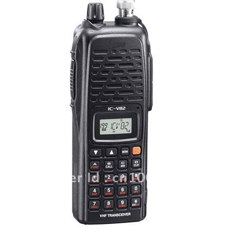 Free Shipping IC-V82 VHF 7W Transceiver Two-way Radio Walkie Talkie