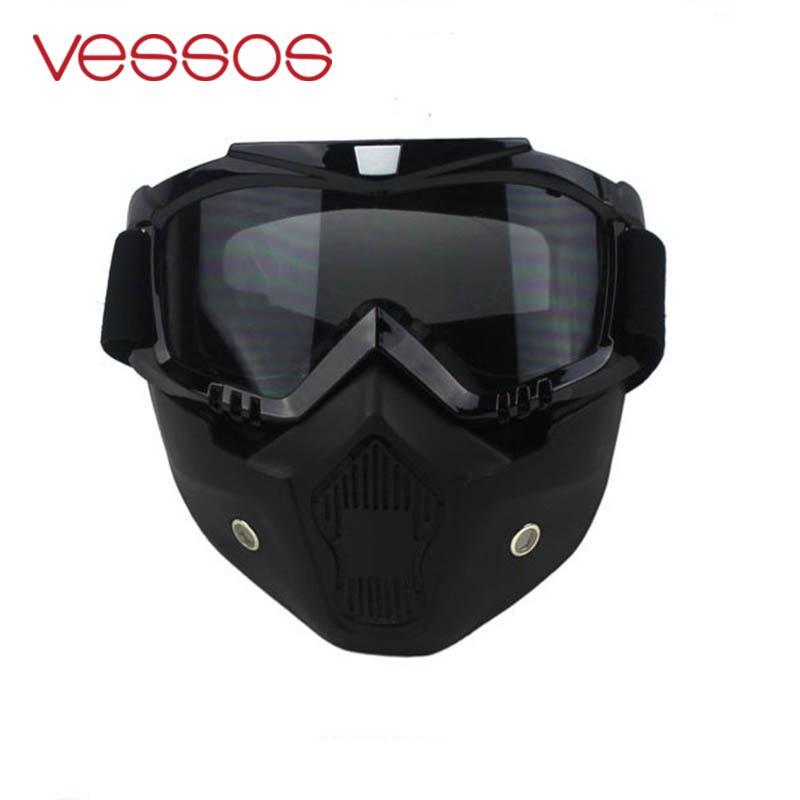 Велоспорт мотоциклетный шлем лыжи Маска Крышка Анти-туман холодной загрязнения беговых Goggle очки протектор козырек зима