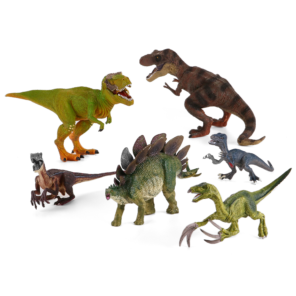 Enjoybay Plastic T-rex Dinosaur Model Toys Tyrannosaurus Dragon Raptor Toy Jurassic Dinosaur Animal Mould Kids Educational Toy цена