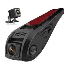 GUBANG Dual Lens FHD 1080P Car DVR Novatek 96655 LCD Screen 500Mega Car Video Recorder Dash Cam With Rear Camera for infiniti jx35 fx50 fx45 qx56 car dvr rearview mirror video recorder dual camera novatek 96655 wdr 5 ips screen dash monitor