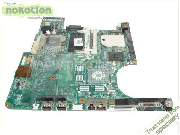 NOKOTION LAPTOP MOTHERBOARD for HP F500 F700 V6000 PAVILION DV6000 442875-001 G06100 DDR2 купить в Москве 2019