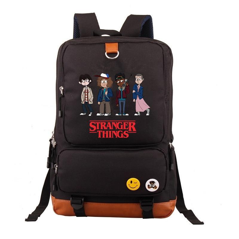 TV Stranger Things Eleven DEMOGORGON backpacks teenagers Kids Boys School Bags Bookbag Unisex travel Shoulder Laptop Bags