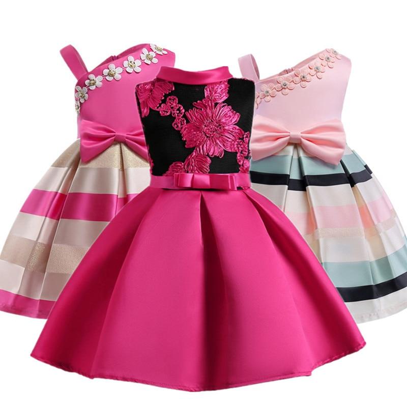 La Princesa del bebé del bordado del vestido de boda de los cabritos ...