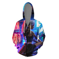 Fashion Harajuku 3D Print men/women Hoodies Hot Game Cyberpunk 2077 Sweatshirt Casual hip hop streetwear Coat Jacket Hoodie