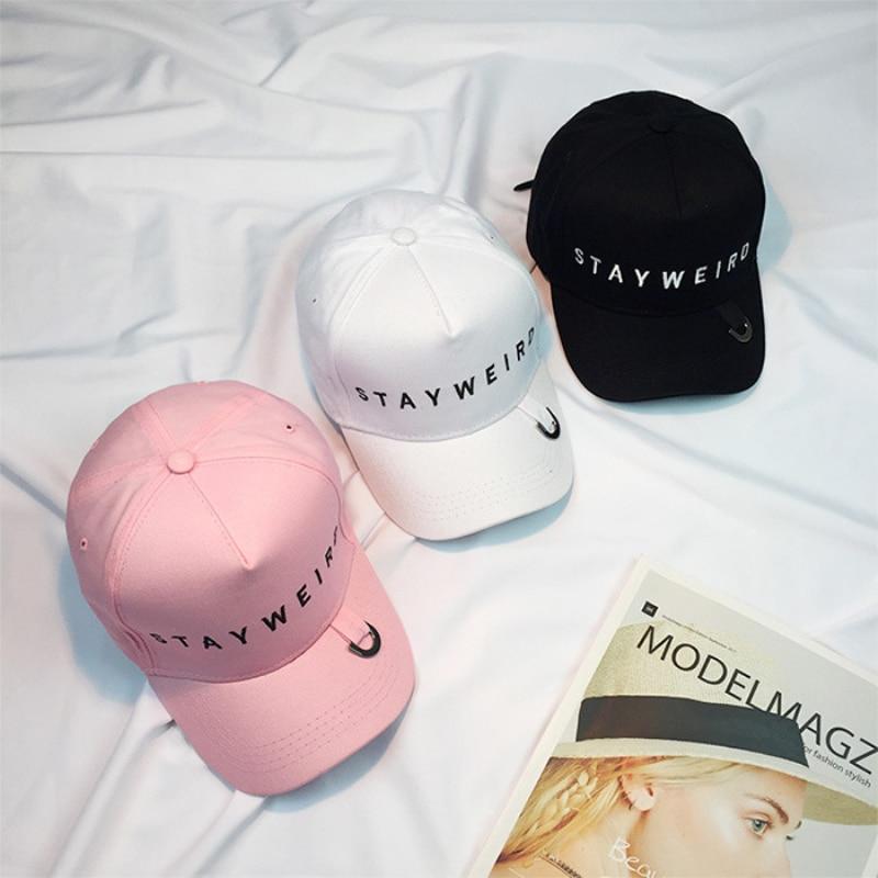 Prix pour Ht909 corée style unisexe solide couleur snapback caps couple amoureux printemps Eté Casquettes Corée Style 6 Panneaux Hip Hop Caps