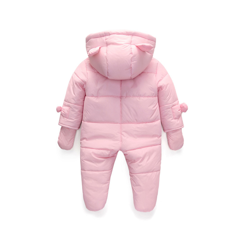 74c31e124afb lrcoml Keep Thick warm Infant baby rompers Winter clothes Newborn ...