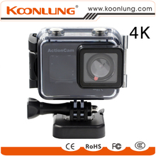 Koonlung 4K Action Camera A12 Super HD 166 Degree Wide Angle Lens Waterproof Sport Camera with Ambarella a12 Chipset