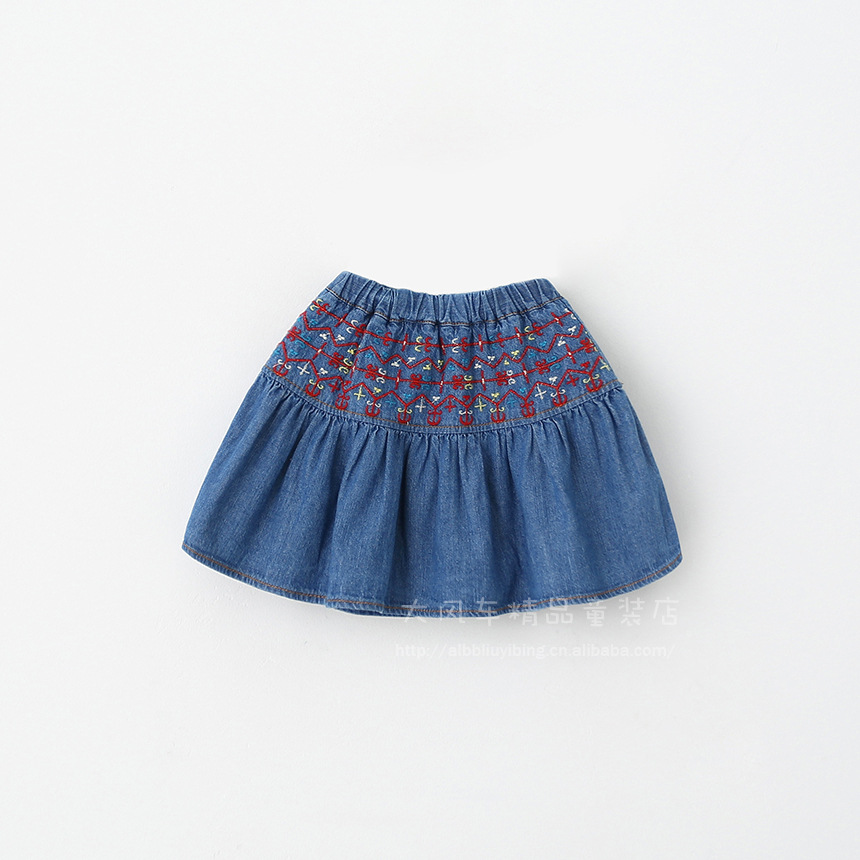 Jean skirt baby girl – Fashion clothes in USA photo blog
