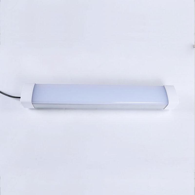 30 Вт 60 Вт светодио дный tri доказательство свет Алюминий пластины SMD Форма Три Proofings лампы с прозрачной абразивных крышка