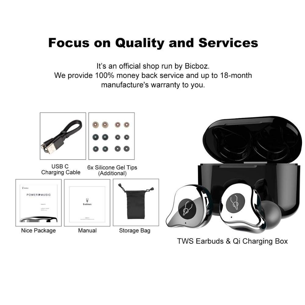 Bluetooth Шум Отмена наушники Hi Fi за ухо Беспроводной гарнитура глубокий бас стерео Шум снижение наушники Bluetooth - 6