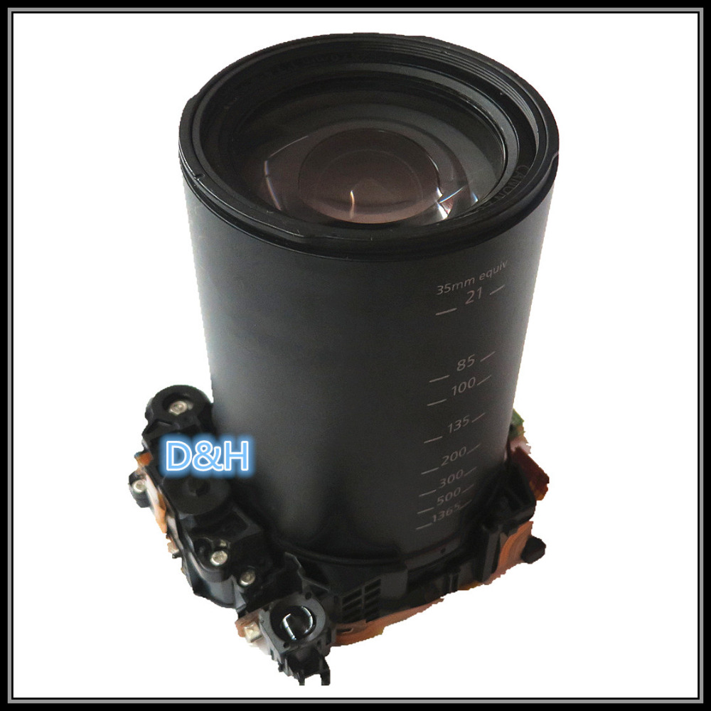 free shipping 100% Original sx60 lens for canon PowerShout SX60 LENS with ccd and  motor sx60 zoom Camera repair parts original digital camera zoom lens accessories for canon ixus130 sd1400 ixy400 is pc1472 ixus 130 with ccd black