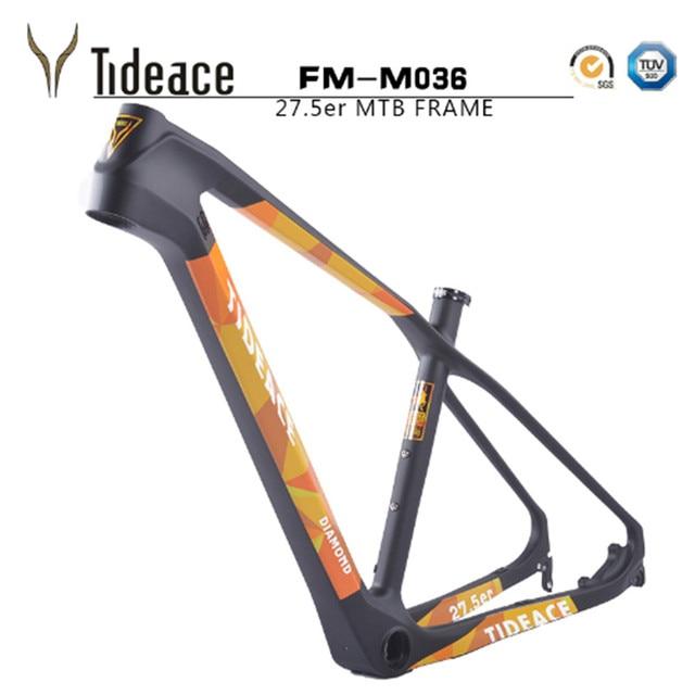 2017 Tideace Carbon 27.5er T800 Full Carbon Mountain Bike Frame 650B ...