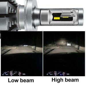 Image 2 - Hlxg 4000 18k 5000 18k 6500 18k H7 led H4 と lumileds 社の luxeon zes チップ車のヘッドライトの球根 H1 led h11 H8 HB3 9005 HB4 自動 Lamp12000LM