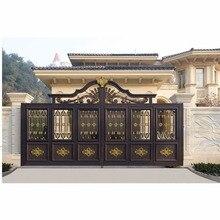 Современный дизайн жилой дом алюминиевые ворота hc-a14