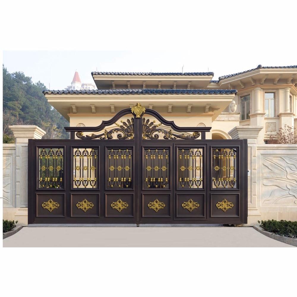 Modern Design Residential House Aluminum Gate Hc-a14