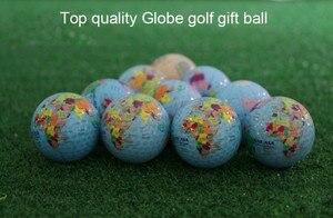 Image 5 - Nouveauté balles de Golf Globe carte couleur balles de Golf 2 pcs/lot pratique balles de Golf cadeau avec carte du monde balles de Golf géographiques uniques