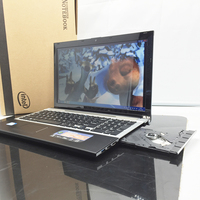 15 6 Inch Fast Surfing Windows7 8 Notebook Computer 4GB 128GB SSD In Tel I7 3517U