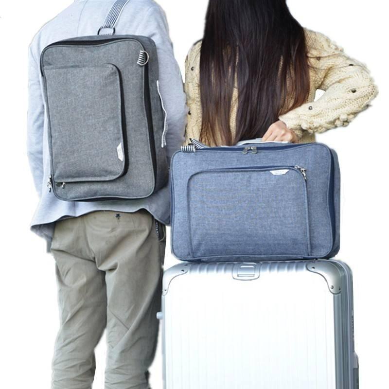 LHLYSGS Brand Designer Unisex Fashion Large-Capacity Trolley Resväska till väska Väska Väska Vattentät Bagage Axelväska