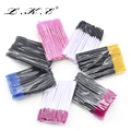 LKE 50Pcs Eyelash Brushes Makeup Brushes Disposable Mascara Wands Applicator Spoolers Eye Lashes Cosmetic Brush Makeup Tools