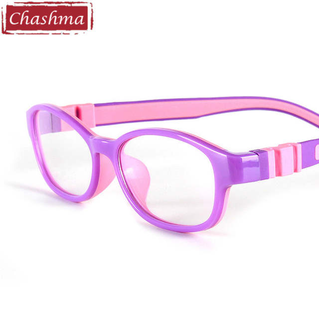 5aed962706 placeholder Chashma Round Rubber Eyeglasses Kids Flexible Silicone Glasses  Frames for Girls and Boys