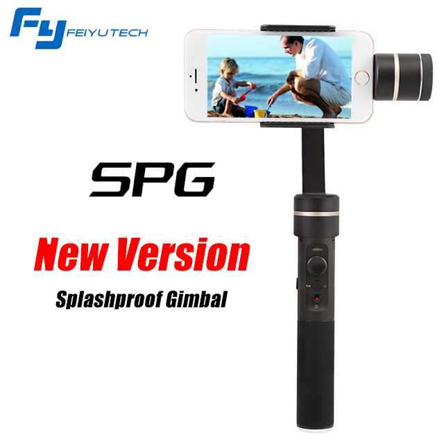 FEIYU SPG Splashproof Gimbal 3-axis Handheld Stabilizer for Smartphone i Phone 7 for Gopro hero 3/4/5/6 yuneec q500 typhoon quadcopter handheld cgo steadygrip gimbal black