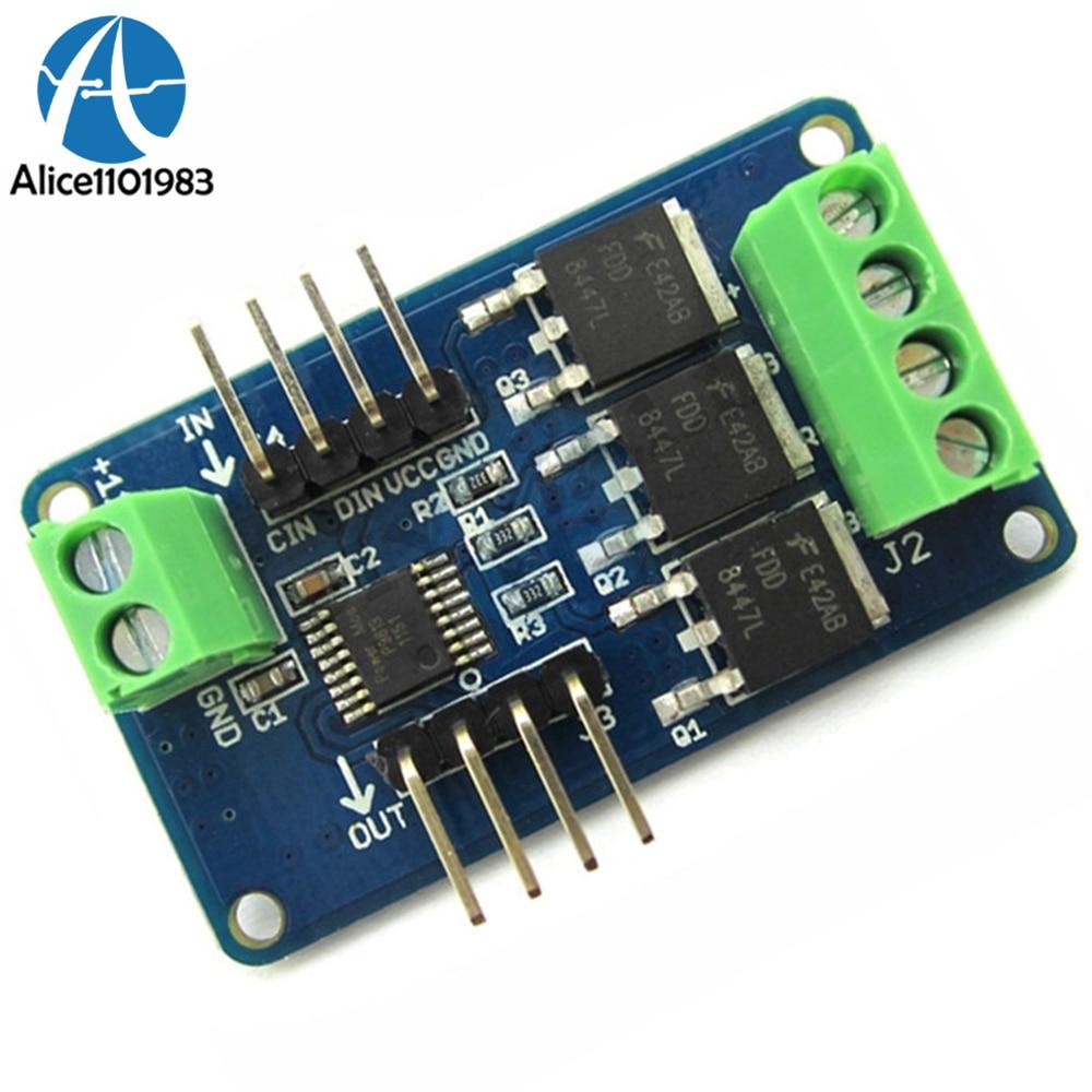 Led Strip Driver Module V10 For Arduino Stm32 Avr 12v Dc 5v Mcu Circuit Full Color Rgb Shield Uno R3 V1