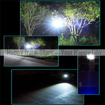 Portable Lantern LED Lamp Light Outdoor Solar Powered Camping Lights Rechargeable Flashlight Torch for Camping Hiking Tent 2