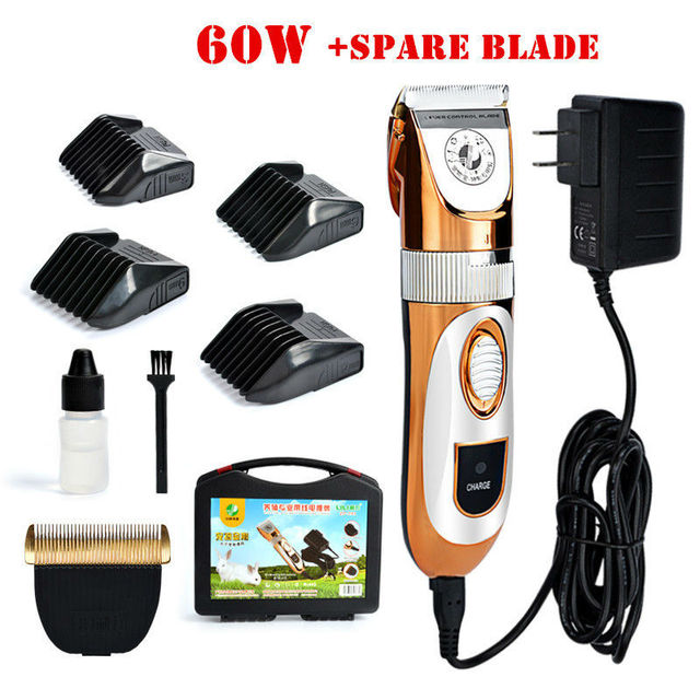 Fast Shipping Cat Dog Hair Trimmer 60W Electrical Pet Hair Clipper Remover Cutter Dog Grooming Pet Product Haircut Machine