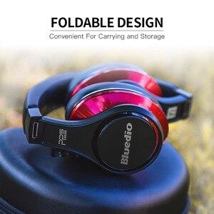 Image 2 - Bluedio U (UFO) Bluetooth наушники, стерео наушники, наушники с встроенным микрофоном, 3Д музыкальный звук, 8 драйверов, Hi Fi профессиональныенаушники для болельшиков.