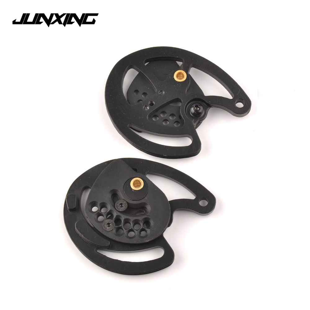 2pcs Archery Compound Bow Pulley for 30-40 LBS JUNXING Compound Bow M183 Outdoor Hunting Shooting Fishing archery hunting 30 40 lbs compound bow right hand adjustable bow set for shooting fishing target outdoor practice