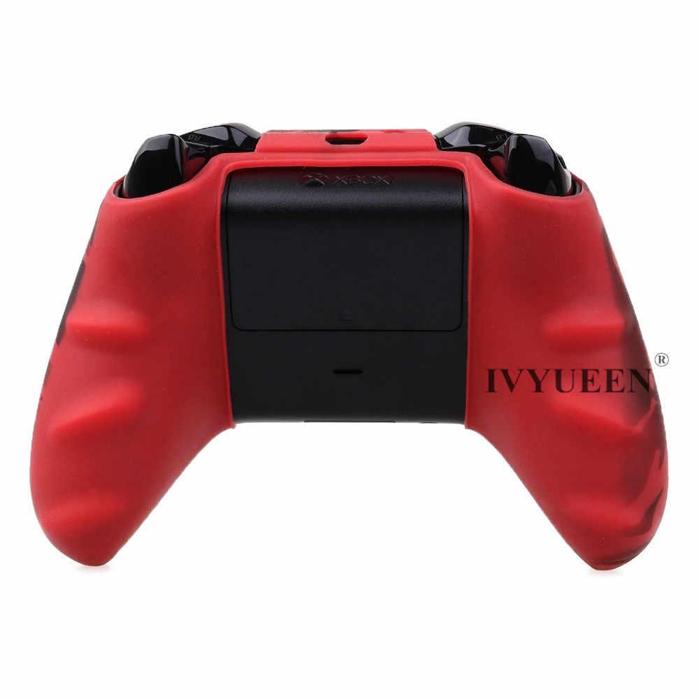 Iyueen силиконовый защитный чехол для XBox One X S контроллер протектор для переноса воды печать камуфляжная крышка ручки крышки