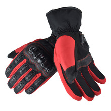 Winter Warm Cycling Bike Moto Gloves Cold Protection Outdoor Riding Gloves Skiing Hiking Warm and Hand Guard Bicycle Equipment