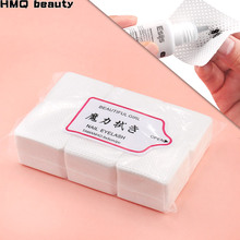 540 pcs Lint-Free Paper Cotton Wipes Eyelash Extension Glue Bottle Mouth Prevent Clogging Wipes Cleaning Removal Gel Cotton Pads