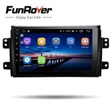 """Funrover 9 """"2 din Android 8.0 Car dvd Radio per Suzuki SX4 2006-2013 di navigazione gps radio video audio Multimedia player stereo"""