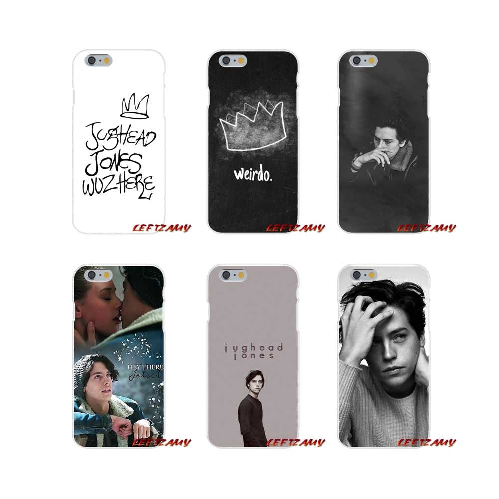 Silicone Phone Cases Covers For iPhone X XR XS MAX 4 4S 5 5S 5C SE 6 6S 7 8 Plus ipod touch 5 6 tv Riverdale Series Cole Sprouse