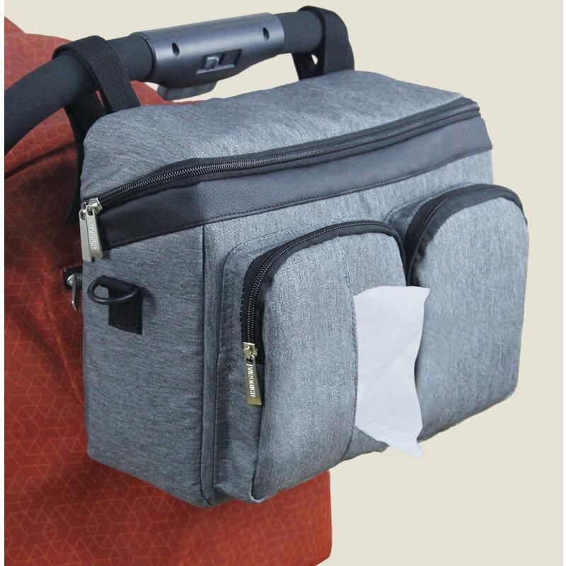 Baby Stroller Bag Diaper Bags Nappy Stroller Organizer Mom Travel Hanging Carriage Pram Buggy Cart Bottle Bag Stroller Accessori-in Diaper Bags from Mother & Kids
