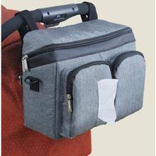 Torba na wózek dziecięcy torby na pieluchy wózek na pieluchy organizator mama podróż wiszący wózek wózek torba do wózka Organizer na butelki wózek Accessori