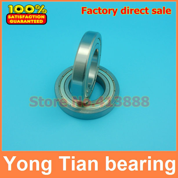 2pcs Free Shipping Double Shielded Deep Groove Ball Bearings 16010ZZ 50*80*10 mm free shipping one lot 50 pcs ds1207 330m 33uh shielded smd power inductors