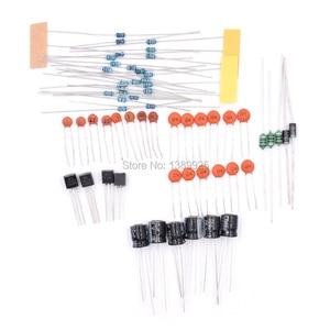 Image 4 - DSO138 DIY dijital osiloskop kiti SMD lehimli 13803K sürümü şeffaf akrilik konut