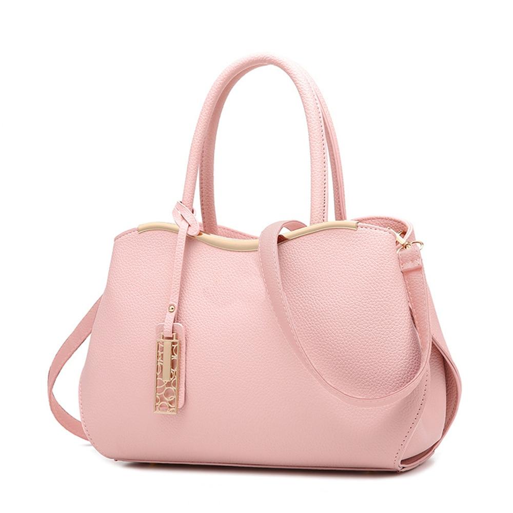 Pu Leather Handbag Women Bag 2017 New Fashion Tote Bag Handbags Ladies Hand Bags