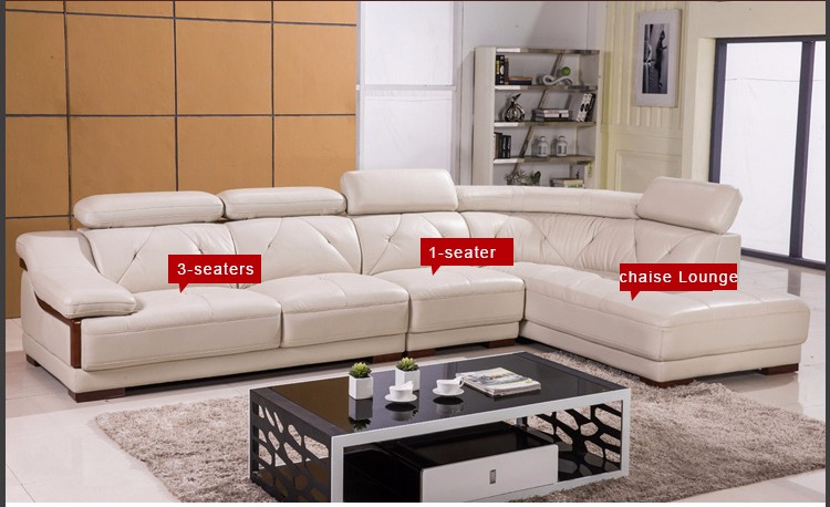 2017 New Style Modern Comfortable Pure Leather Sofa Bad L855 Poltronas Set In Living Room Sofas From Furniture On Aliexpress Alibaba Group