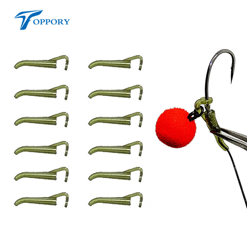Toppory Pop Up Hook Aligners Carp Bream Tench Coarse Fishing Rig Carp Fishing D-Rig Aligner Hair Rigs Terminal Tackle