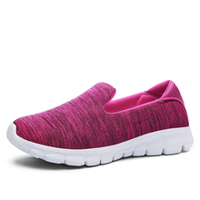 New Arrival Women Sneakers Womem's Slip On Shoes Breathable Mesh Lightweight Fitness Sports Running Shoes Outdoor Walking Flats new arrival original adidas climacool jawpaw slip on unisex aqua shoes outdoor sports sneakers