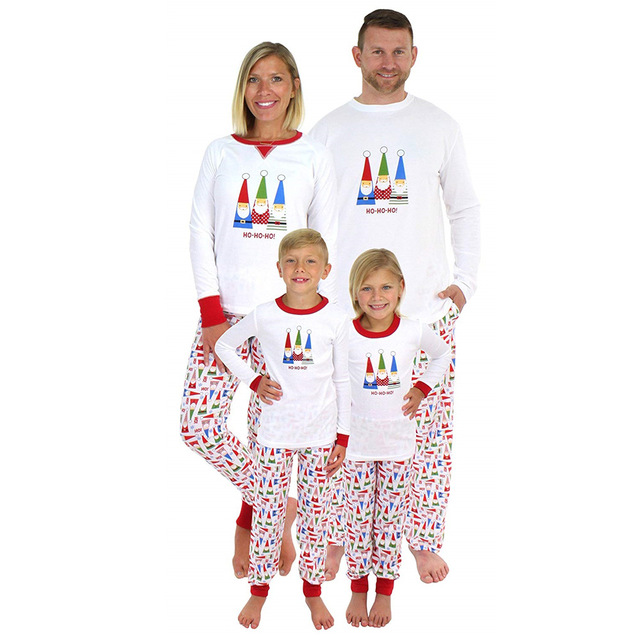 Family matching clothes christmas pajamas dad mom daughter son matching outfits family look mommy and me clothes kids clothing