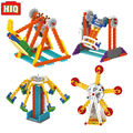 Barco pirata Parque Noria Bloques de Construcción Eléctrica de Mi Tiempo Robot para Makeblock Aprendizaje Kit de Juguetes Educativos Para Niños