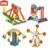 Navio pirata Playground Ferris Wheel Blocos de Construção Elétrica Meu Tempo Robô Makeblock Kit Educacional Brinquedos de Aprendizagem Para As Crianças